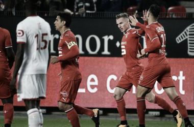 Lille joga mal, é derrotado pelo Rennes e amarga zona de rebaixamento