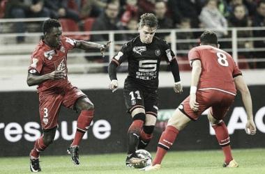 Com emoção até o fim, Rennes elimina Dijon e avança na Copa da Liga Francesa