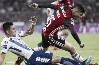 En la prorroga Pachuca empató el juego   Foto: Soy Referee