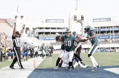Con el triunfo, los Eagles aseguran el título de división | Foto: Eagles