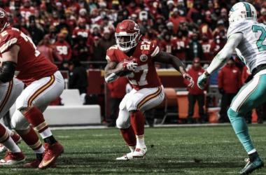 Hunt volvió a hacerse presente en el marcador | Foto: NFL