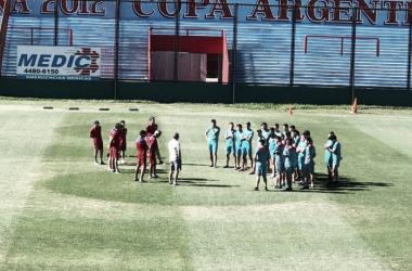 Comenzó la era Rondina | Foto: @ArsenalPrensa