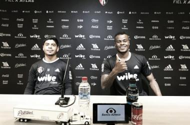 Robles y Barreiro podrían tener minutos el miércoles | Foto: Atlas FC