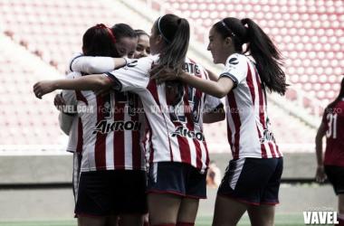 Chivas aseguró la victoria en el primer tiempo | Foto: Fabián Meza / VAVEL