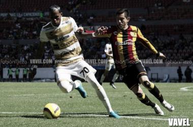 Dorados anotó sus dos goles en el primer lapso | Foto: Fabián Meza / VAVEL