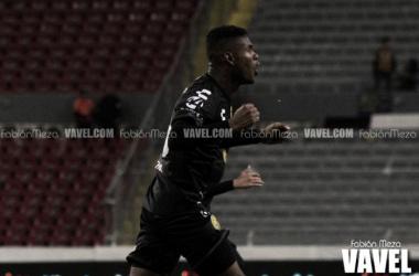 Sánchez marcó el segundo tanto de los tapatíos | Foto: Fabián Meza / VAVEL