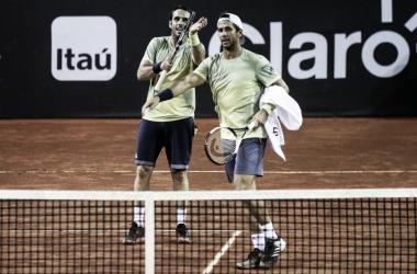 Verdasco é campeão de duplas e mantém vivo sonho de dobradinha no Rio Open