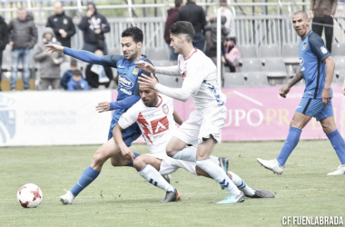 Fuenlabrada vs Rayo Majadahonda|Foto: CF Fuenlabrada