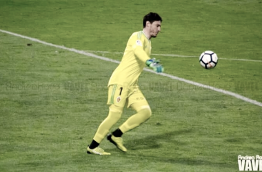 Cristian durante un partido | Fotografía: Andrea Royo (VAVEL)