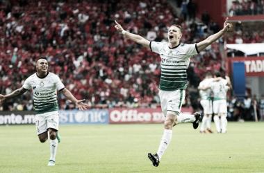 Furch marcó gol en el inicio del partido | Foto: Milenio / La Afición