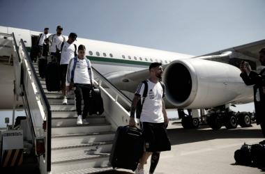 Argentina llegó a Barcelona