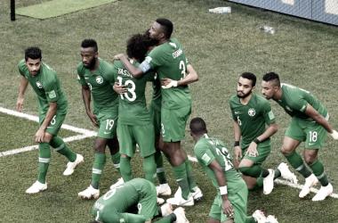 Resumen Arabia Saudí 2-1 Egipto en Mundial Rusia 2018