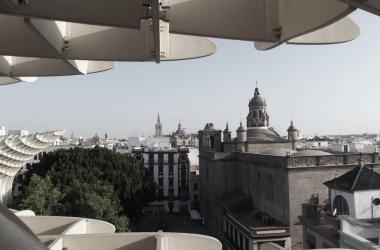 Sevilla desde el Metrosol Parasol // Carlota Franco Carrasco