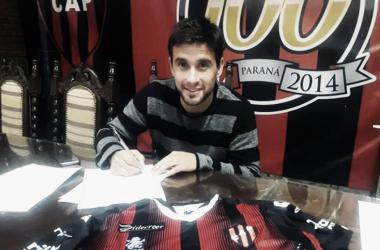 """Lucas Ceballos: """"Espero adaptarme rápido, hacer una buena preparación y pelear por un lugar en el equipo"""" Foto: CAP"""