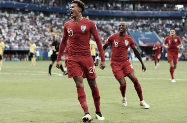 Alli marcó el segundo gol de la tarde | Foto: FIFA