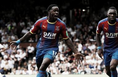 Schlupp abrió el marcador | Foto: Crystal Palace