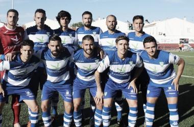 Once inicial del Villanovense ante el Llerense en pretemporada (2-4). | Foto: CF Villanovense