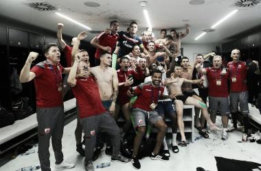 El Estrella Roja entra en la Champions con epicidad incluida