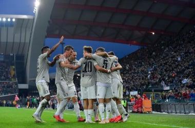 Serie A - La Juventus liquida senza problemi l'Udinese (0-2)