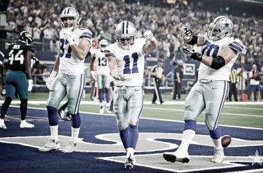 Beasley anotó dos TD en el partido | Foto: Dallas Cowboys