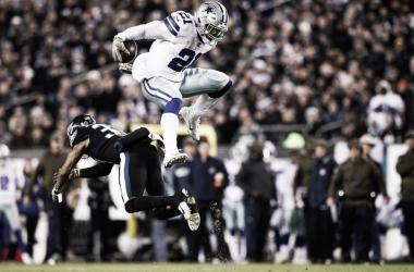 Elliott anotó 2 TD | Foto: NFL