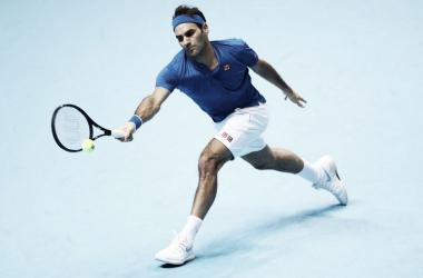 Federer aún está con vida en el Masters. | Foto: Prensa ATP.