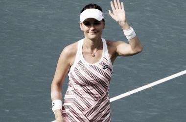 Radwanska deixou sua marca e certamente fará falta no tênis profissional (Foto: Divulgação/WTA)
