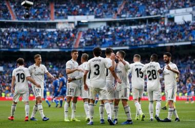 ريال مدريد يحقق الفوز على هويسكا ويترتقي إلى المركز الرابع