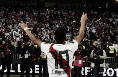 Martínez consiguió dos Libertadores con La Banda. Foto: Web.