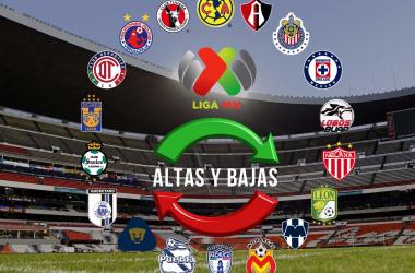 Altas y bajas oficiales de la Liga MX para el Clausura 2019