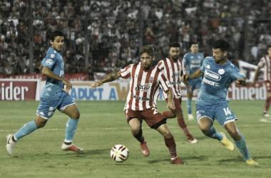 San Martín de Tucumán y Belgrano empataron en cero y siguen en zona díficil