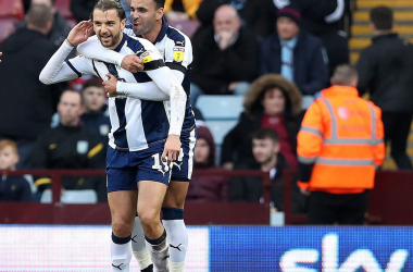 Jay Rodriguez celebrating Via @WBAFC twitter