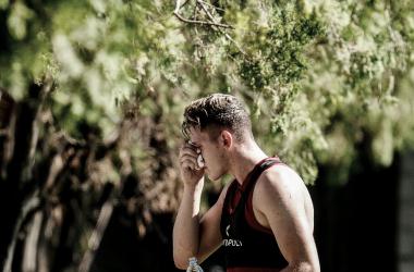 El delantero del Ciclón estará un tiempo afuera de las canchas. Foto: San Lorenzo