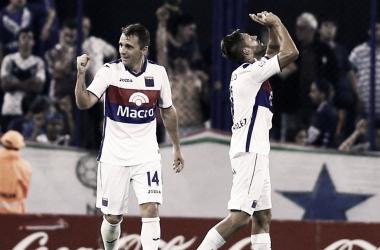 De nuevo aparecieron los cracks: Montillo (8 asistencias en la Superliga) y Fede González (11 tantos en el torneo). Foto: TNT Sports.