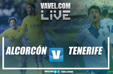 AD Alcorcón 1-1 CD Tenerife en directo y en vivo online en LaLiga 1 2 3