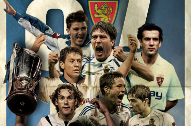 Jugadores históricos del Real Zaragoza / FOTO: Rojan Design (Raúl Rojas)