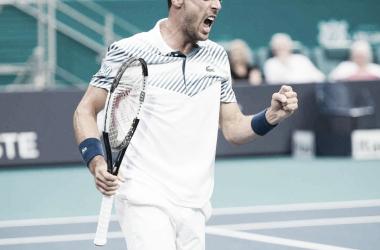 Bautista Agut da el golpe del torneo. Foto: ATP