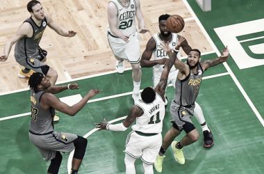 Boston ganó un duro encuentro. Foto: Boston Celtics