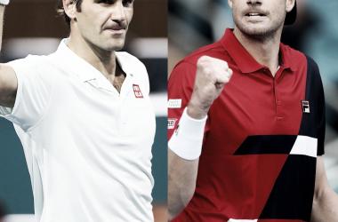 Federer buscará destronar a Isner. Foto: ATP