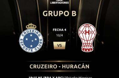 Huracán va por todo (Foto: Copa Libertadores)