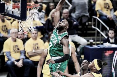 Brown pone el 3-0 la serie. Foto: Boston Celtics