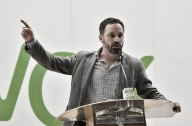 Santiago Abascal, líder de VOX // Fuente: Pinterest