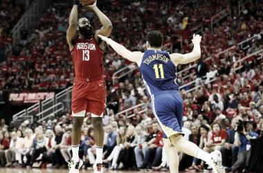 Rockets ganó y descuenta la serie. Foto: NBA