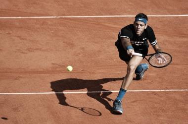 Del Potro sigue en carrera. Foto: Roland Garros