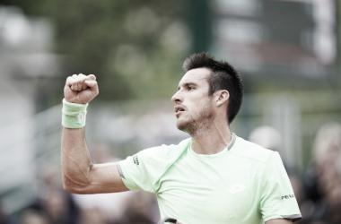 Mayer avanza en París. Foto: Roland Garros