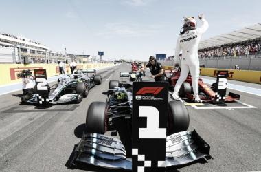 Hamilton no Circuito de Paul Ricard&nbsp;<span>(Foto: Divulgação / Mercedes)</span>