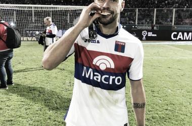La medalla del campeón: Fede fue figura en la Copa de la Superliga (Foto: Prensa Tigre).