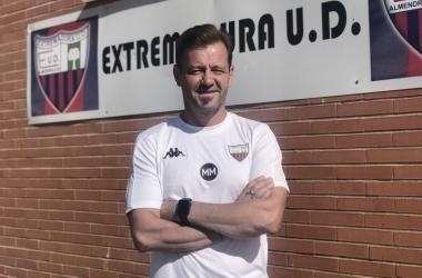 Manuel Mosquera, entrenador del Extremadura