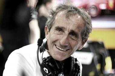 Prost está no novo projeto de F1 da Renault desde 2015 (Foto: Divulgação / Renault)