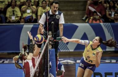Brasil passa sufoco, mas vence Azerbaijão no tie-break peloPré-Olímpico de Vôlei